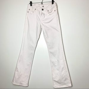 Kut from the Kloth White Flare Wide Leg Jeans